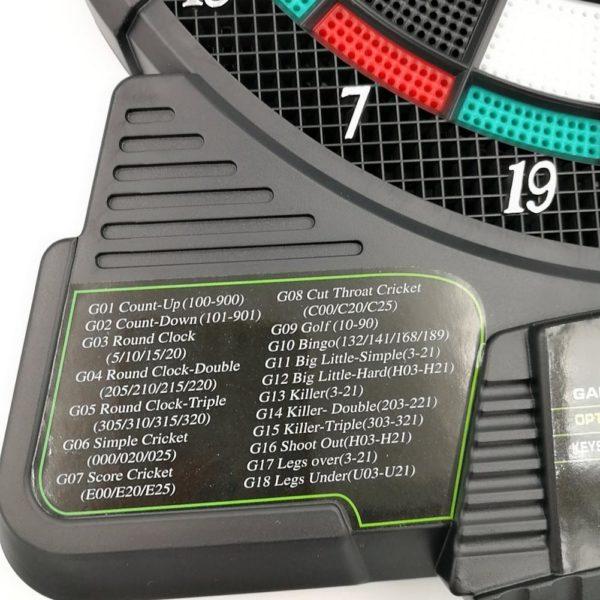 Electronic Dartboard With Automatic Scoring