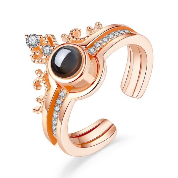 I Love You Projection Ring