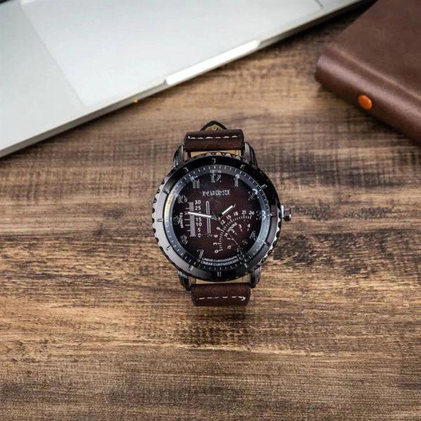 Mens Luxury Gift Set - Brown - Watch