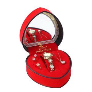 Womens Heart Shaped Gift Set - 1