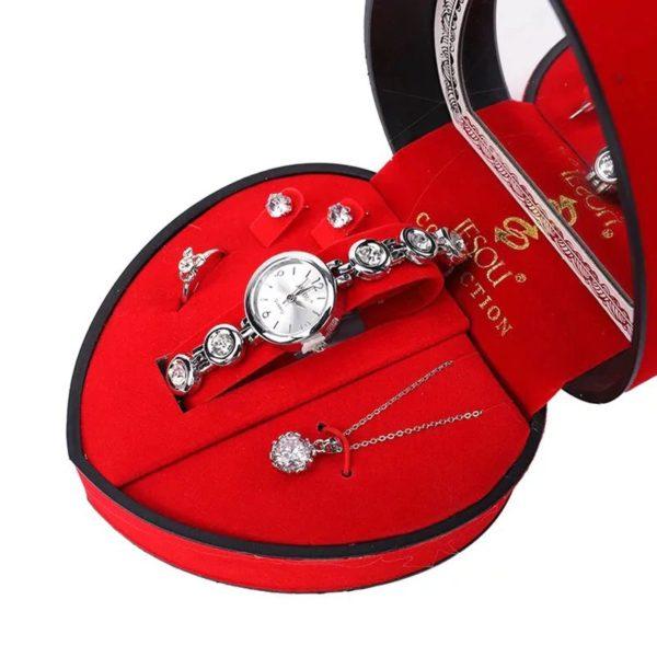 Womens Heart Shaped Gift Set - 5