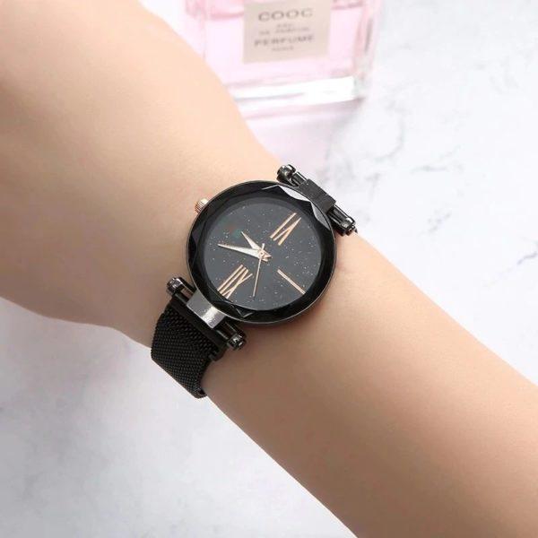 Women's Luxury Gift Set - Bracelet, Earrings, Necklace And Watch - Watch - 1