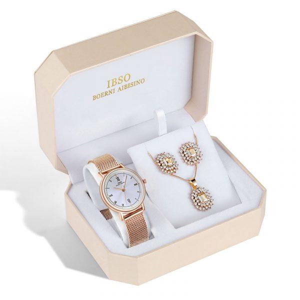 Watch Jewelry Set