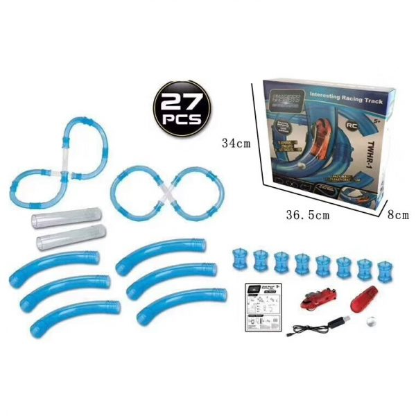 Speed Pipes Electric Car Racing Track 8