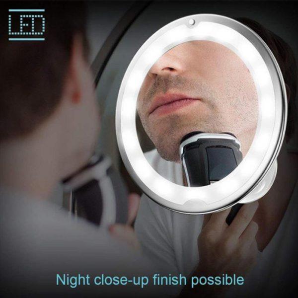 Flexible Gooseneck Makeup Mirror 2