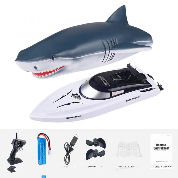 Electric RC Shark Speed Boat 1