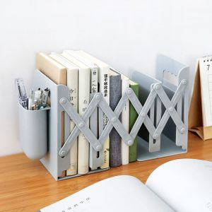 Retractable Bookends For Shelves