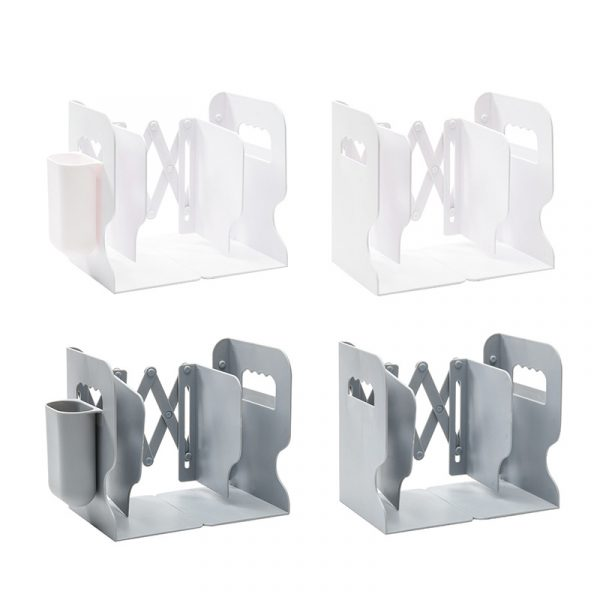 Retractable Bookends For Shelves 5