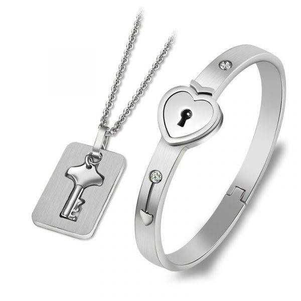 Bracelet Lock with Pendant Key