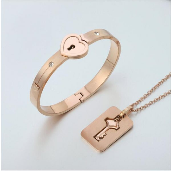 Bracelet Lock with Pendant Key 11