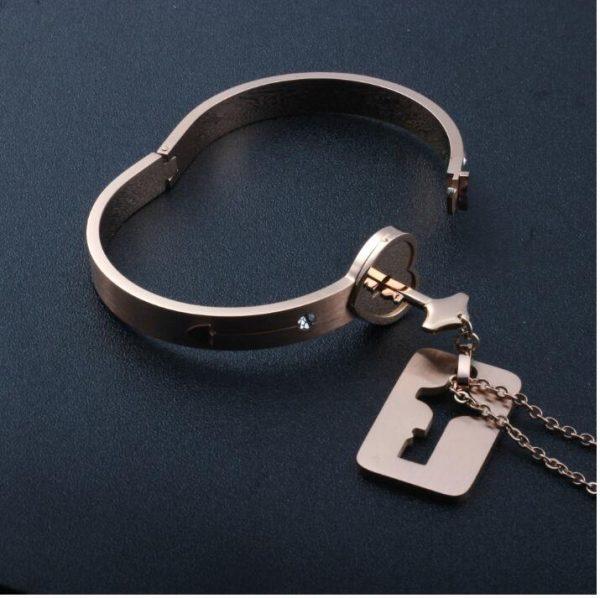 Bracelet Lock with Pendant Key 12