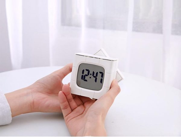 Rubiks Cube Alarm Clock 1