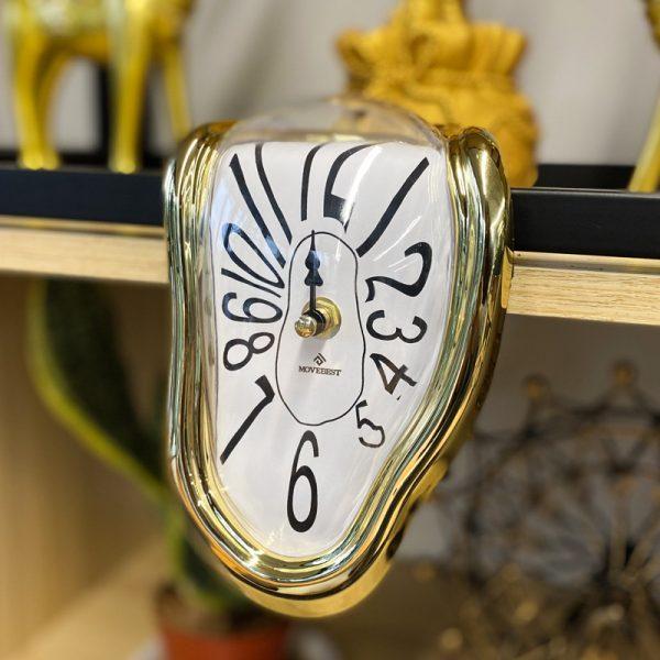 Novel Melting Clock - Surrealist Salvador Dali Style Clock 2