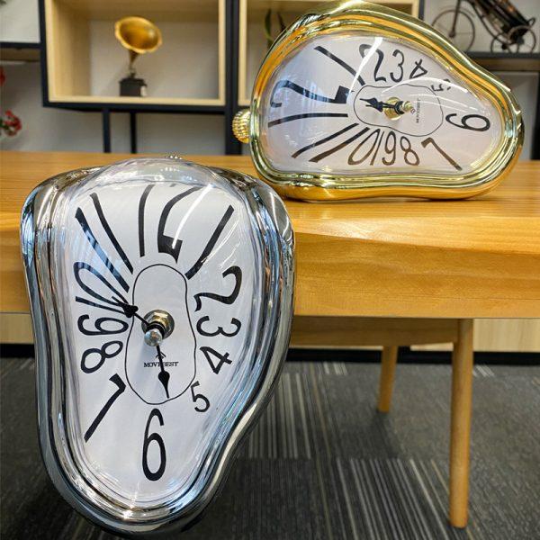 Novel Melting Clock - Surrealist Salvador Dali Style Clock 3