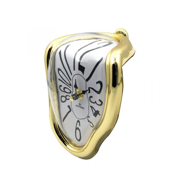 Novel Melting Clock - Surrealist Salvador Dali Style Clock 5