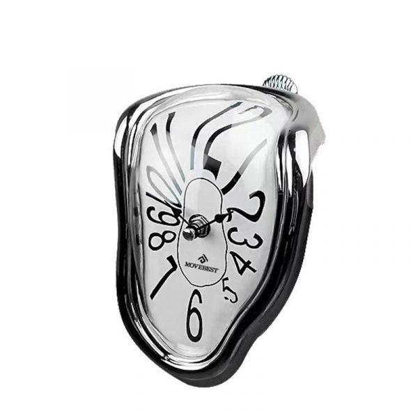 Novel Melting Clock - Surrealist Salvador Dali Style Clock 6