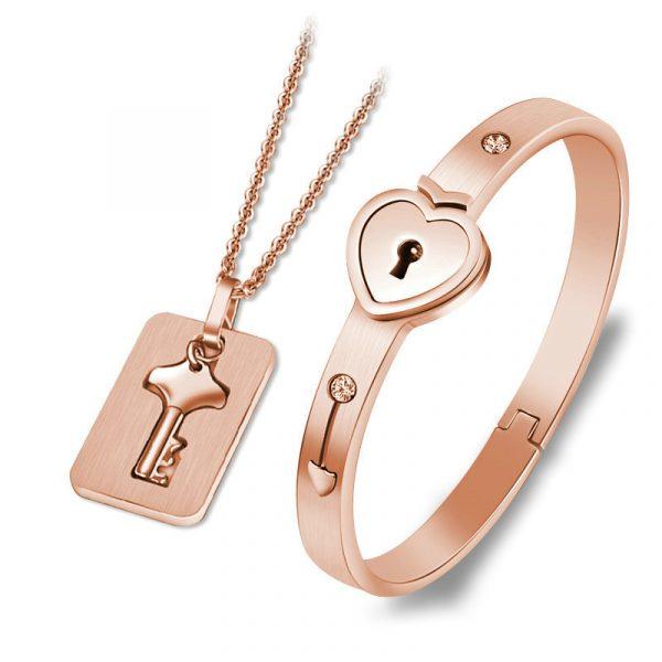 Bracelet Lock with Pendant Key 2
