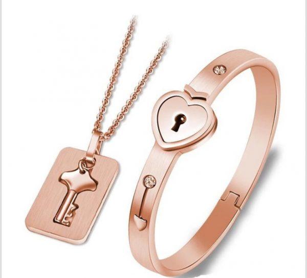 Bracelet Lock with Pendant Key 13