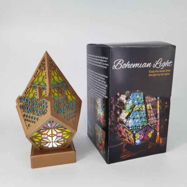 Bohemian Style Projector Lamp 4