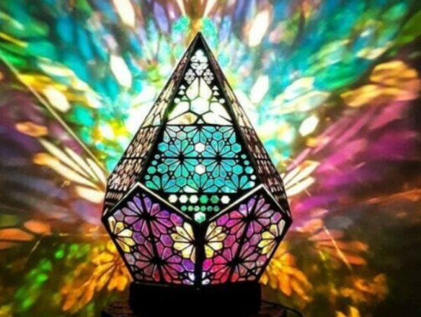 Bohemian Style Projector Lamp 7