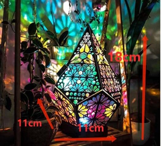 Bohemian Style Projector Lamp 6