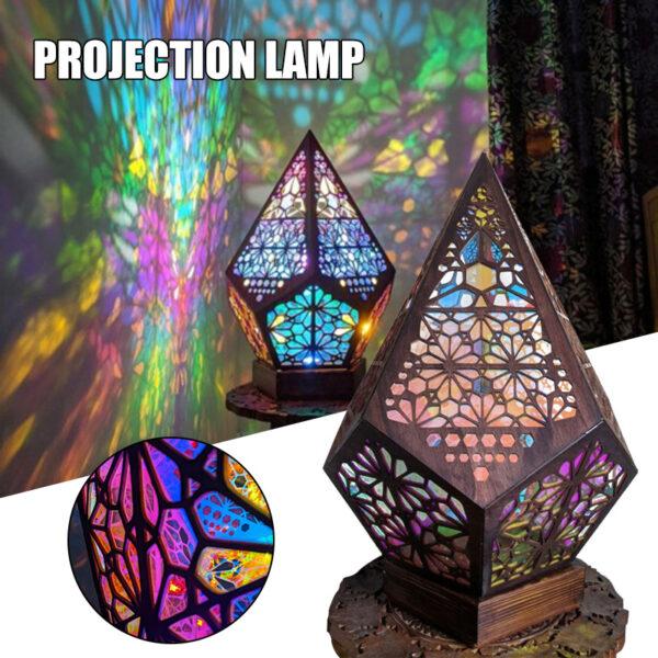 Bohemian Style Projector Lamp