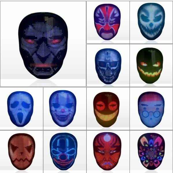 LED Party Face Mask 7