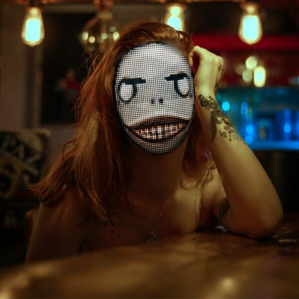 LED Party Face Mask 3