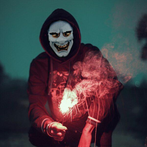 LED Party Face Mask 4