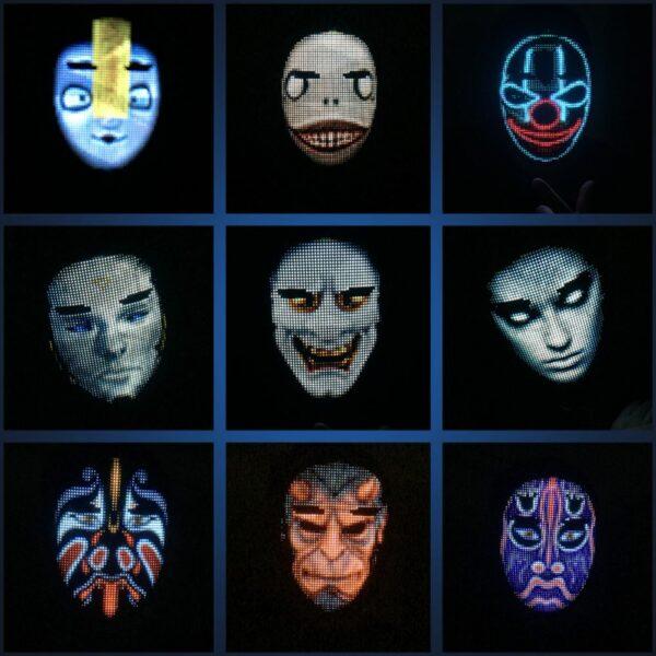 LED Party Face Mask 5