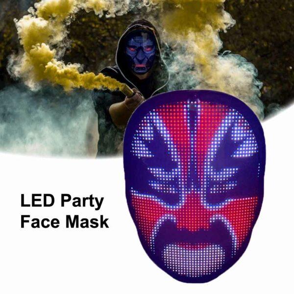LED Party Face Mask 1