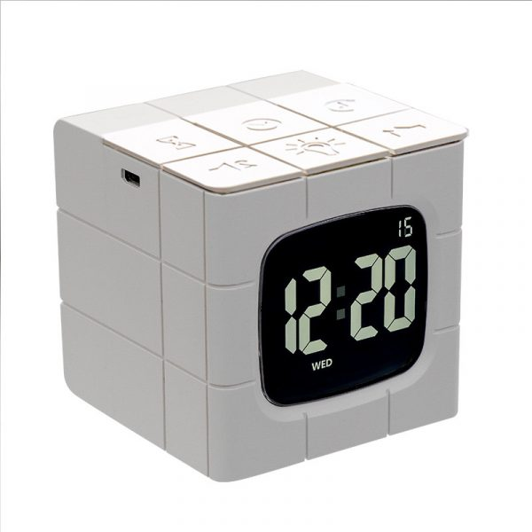 Rubiks Cube Alarm Clock 2