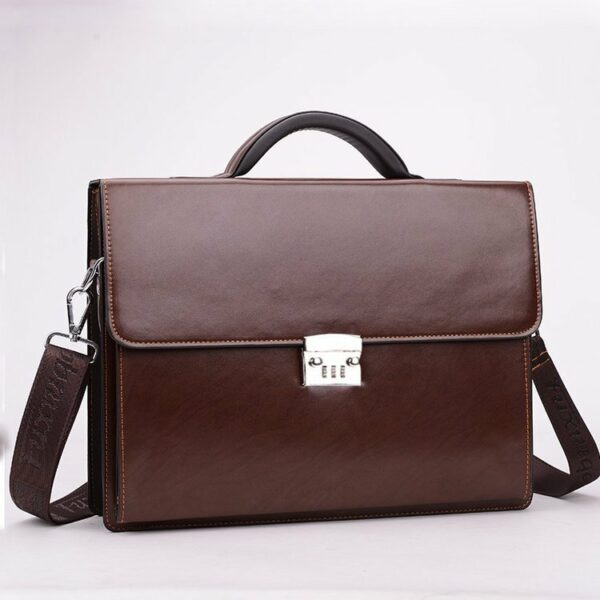 Business Briefcase With Lock 1