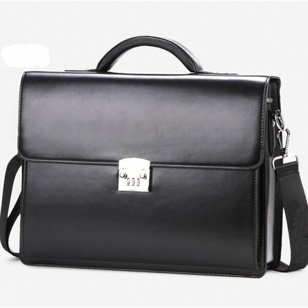 Business Briefcase With Lock 3