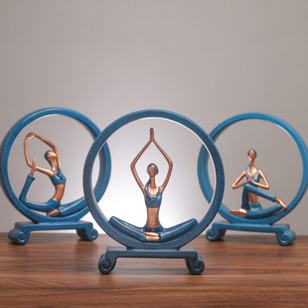 Yoga Figure Ornaments 3