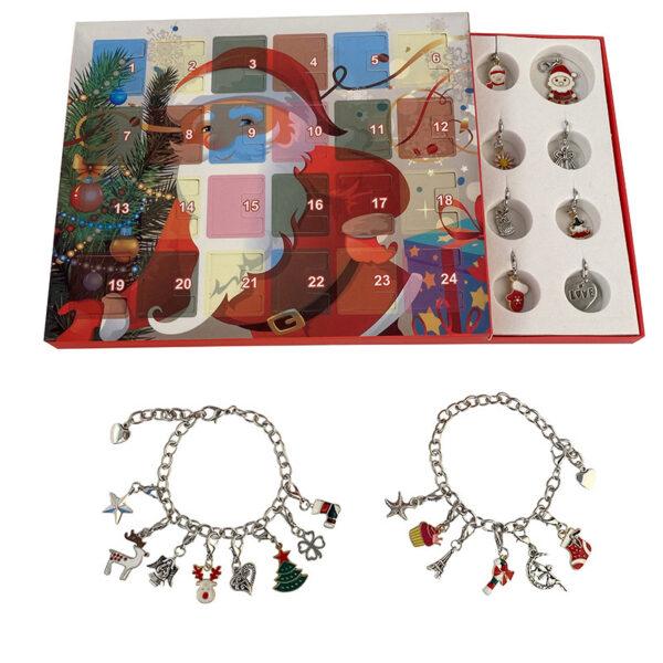 Christmas Themed Charm Bracelet Kit 4