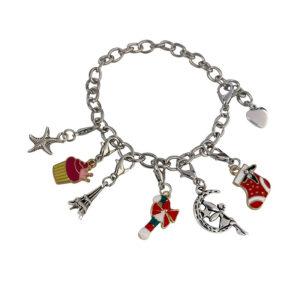 Christmas Themed Charm Bracelet Kit