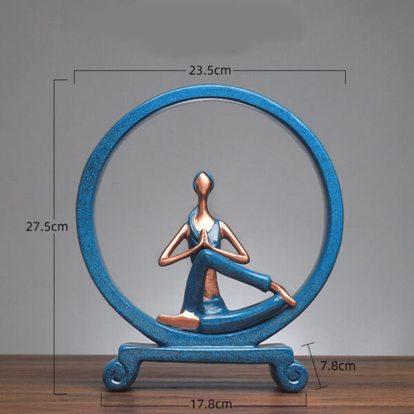 Yoga Figure Ornaments 1