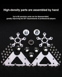 Desktop Fidget Spinner-materials