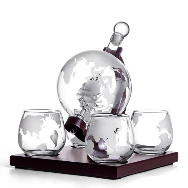 Globe Wine Container Set 8