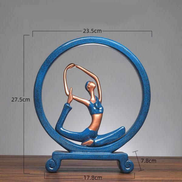 Yoga Figure Ornaments 2