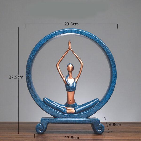 Yoga Figure Ornaments 5