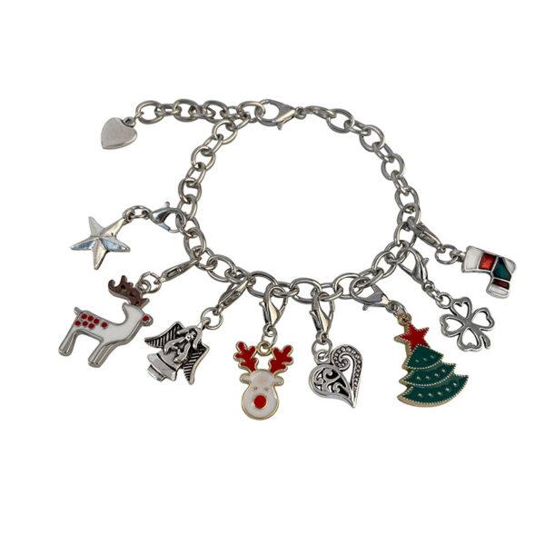 Christmas Themed Charm Bracelet Kit 3