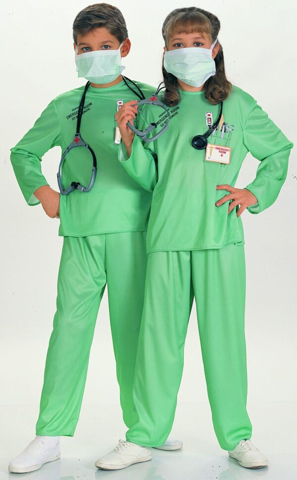 Childs E.R. Doctor Costume Small 1
